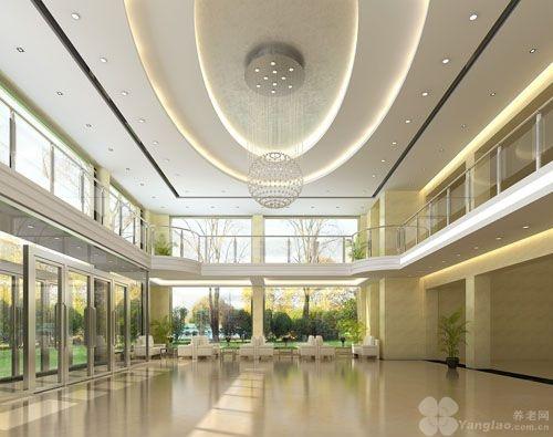公寓主楼为七层全框架欧式建筑